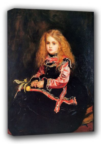 Millais, John Everett: Souvenir of Velasquez. Fine Art Canvas. Sizes: A3/A2/A1 (00701)